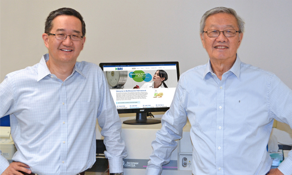 Co-founders, Dr. Jason Shih and Dr. Giles Shih